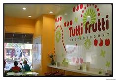 Tutti Fruitti Frozen Yogurt! Oh yeah baby!  I go to the one in Fargo, North Dakota! Did you know one is opening in Bismarck, ND next month? But wherever you are...google and see if you have one near! Seriously!  You WON'T be sorry! You WILL lick your lips! And such fun toppings!