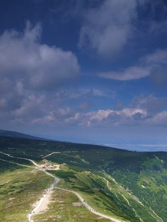 Poland - on the way to Śnieżka, the highest peak in Karkonosze