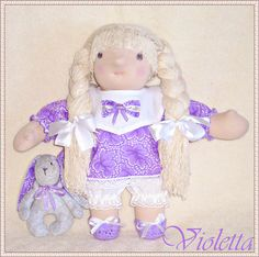 Rag dolls handmade Waldorf dolls Handmade rag doll blonde doll toy for children toy doll toys and games soft sculpture dolls OOAK  Doll play - pinned by pin4etsy.com