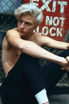 Lucky Blue Smith by Chad + Paul for Rollacoaster