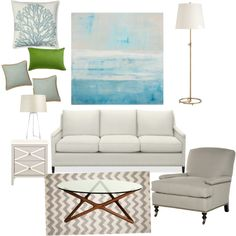 My first room in Polyvore. Any tips for future ones? LoveNowSellLater.com