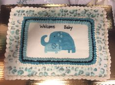 Baby Shower cake by Laura  Caldwell