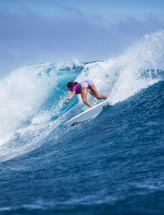 Malia Manuel in Round 1 of the 2015 #FijiPro