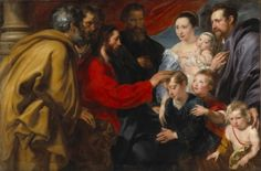 Let the Children Come to me - Anthony van Dyck - The Athenaeum