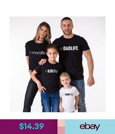 dd1692f0 T-Shirts Matching Family T-Shirts Super Dad Super Mom Super Kid Mommy Daddy  Kid Outfits