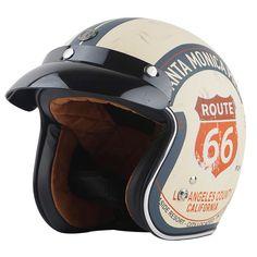Retro Harley Moto Casque Hommes 3//4 Retro Open Face Casque Cafe Racer Moto Scooter s/écurit/é Caps M L XL avec Pare-Soleil Interne Femmes Casques