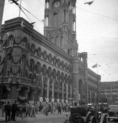 1936 Berlin - Rotes Rathaus