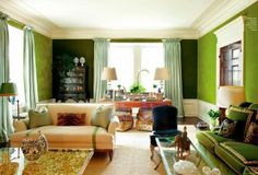 Color Crush: Glorious Green | Tory Burch's Home