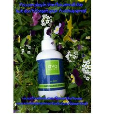 Ava Anderson Non-Toxic Bug spray is amazing, deet free and all natural!  Www.avaandersonnontoxic.com/SamanthaH or www.facebook.com/Samantha4avaa