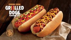 Burger King To Introduce Hot Dogs... Are They Desperate??