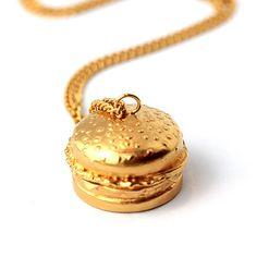 Burger Locket Necklace | My Flash Trash Mall [https://mall.myflashtrash.com/product/jewellery/necklaces/burger-locket-necklace/707]