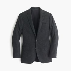 J.Crew Mens Ludlow Suit Jacket In English Donegal Wool (Size