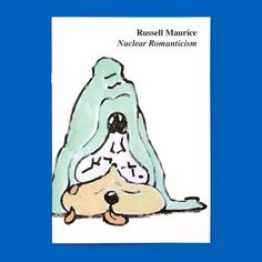 Nuclear Romanticism / Available at www.draw-down.com / Russell Maurice is a UK-based artist designer and curator whose work is generally considered to be part of the Comic Abstraction movement. Taking a cue from twentieth-century graphic art (Disney pop art surrealism psychedelic  art) and drawing on a sensibility that includes caricatures cartoons and graffiti Maurice's paintings and mixed media works in this volume combine the sublime and the comical with reflective somber and often…