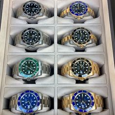 Which of the SUBMARINER collection would you pick? Congrats to @hooked2luxury fo... | http://ift.tt/2cBdL3X shares Rolex Watches collection #Get #men #rolex #watches #fashion
