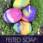 Be the best handmade gift giver ever with this Felted Soap Tutorial. It's the handmade gift your friends will actually want!