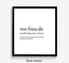 Vorfreude-Definition Schönheit romantisch Wörterbuch