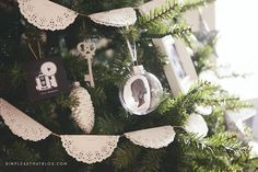 Simple+DIY+Silhouette+Keepsake+Ornaments