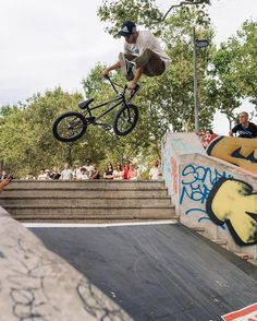"""theshadowconspiracy: """"The BMX Street Station Jam went down in Lyon, France and DAMN did it look like a good ass time. Dudes were going off form the Shadow and Subrosa best tricks! Case in point, @ThomasBenedetti with the buck 180 down whip up the..."""