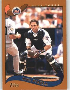 2002 Topps  490 Mike Piazza - New York Mets (Baseball Cards) by Topps fe47b8759