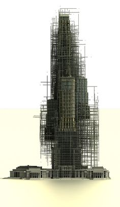 fabriciomora:  Wieża Babel