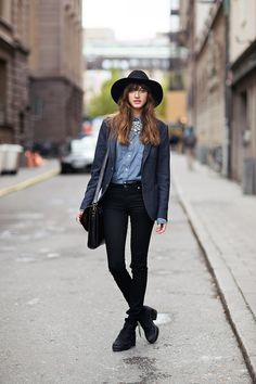 this hat, this outfit, just about perfect