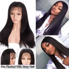 Rose Hair Human Virgin Brown Color Hair Lace Frontal Wig/Full Lace Wig/360 Lace Wig 150% Density The Same As The Hairstyle In The Picture | Rose Hair