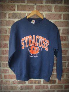 Vintage 90's Syracuse University Orangemen Crewneck Sweatshirt by CharchaicVintage, $20.00