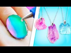 TRUCOS CON SILICONA CALIENTE QUE TIENES QUE SABER ❤️- Tutoriales Belen - YouTube Easy Paper Crafts, Fun Crafts, Diy And Crafts, Paper Flower Vase, Biscuit, Jewelry Making Tutorials, Fun Projects, Silicone Molds, Pendants
