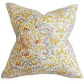 Found it at Wayfair - Halcyon Floral Throw Pillow