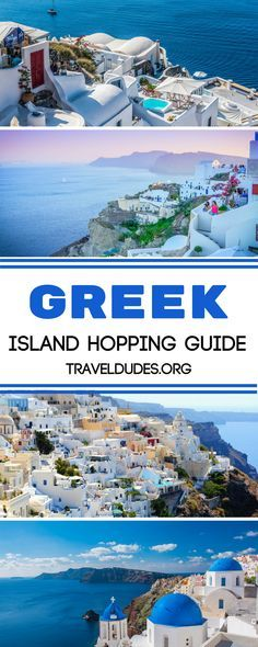 The complete guide to Greek Island hopping like a pro. How to choose a Greek island cluster to focus on (there's more than just the Cyclades!) + how to navigate the Greek ferry system and snag the best island accommodation. Travel in Greece. | Travel Dudes Travel Community#Greece