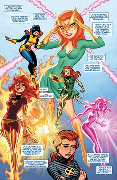 Nostalgic, retro art style and great line work really brings this panel to life. (Page from 'All New X-Men #25.' Art by Bruce Timm. April 9, 2014)