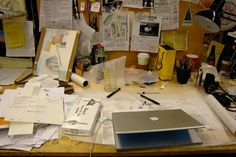Have a Messy #Workspace? You Could Be a #Creative Genius…And a Bad Person |  By: Nicole Capo
