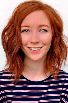 Find The Copper Hair Shade That Will Work For Your Image Hair Color Auburn, Auburn Hair, Hair Color Shades, Hair Colours, Copper Brown Hair, Red Hair With Blonde Highlights, Burgundy Hair, Pale Skin, Brown Skin