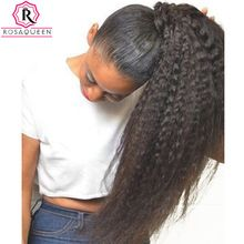 Get HumanHair Products At Cheap Prices  US $58.20     Wholesale Priced Wigs, Extensions, And Bundles!     FREE Shipping Worldwide     Get it here ---> http://humanhairemporium.com/products/kinky-straight-clip-in-human-hair-extensions-brazilian-remy-hair-100-human-natural-hair-coarse-yaki-clip-ins-rosa-queen/  #wigs_for_black_women