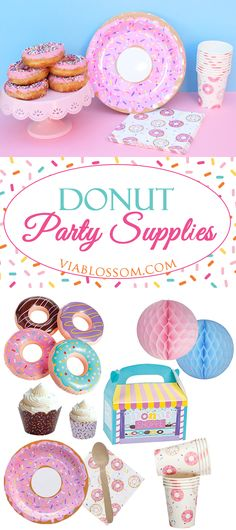 You don't want to miss our Top Donut Party Ideas and Decorations!!!  They are perfect for a Doughnut Party!