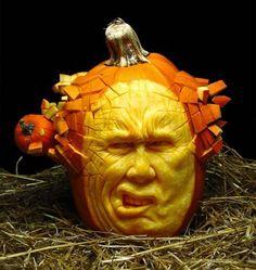 Mind-Blowing Pumpkin Art