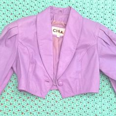 A personal favorite from my Etsy shop https://www.etsy.com/listing/531384371/xs-1980s-vtg-chia-lavender-pastel-purple