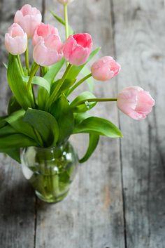 I love my tulips...