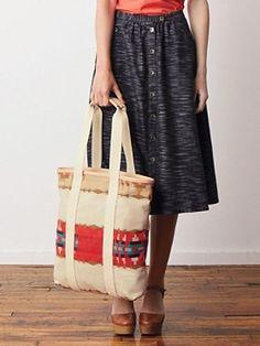 Pendleton Woolen Mills - Portland Collection - Mckenzie Bridge Cotton Skirt