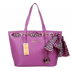 Michael Kors Jet Set Scarf Large Purple Totes Have A Treat Reputation All Over The World At Lowest Price! #MichaelKorsOnline #FallingInLoveWith