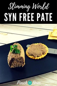 Slimming World Syn Free Pate Slimming World Recipes Slimming World Dips, Slimming World Recipes Syn Free, Slimming Eats, Slimming World Starters Recipes, Slimming World Taster Ideas, Syn Free Snacks, Syn Free Food, Liver And Bacon, Sliming World