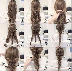 Immagine di hair, hairstyle, and braid