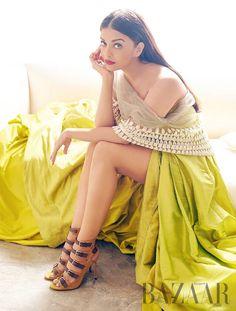Aishwarya Rai Bachchan in a Harper's Bazaar photoshoot. #Bollywood #Fashion #Style #Beauty #Hot #Sexy