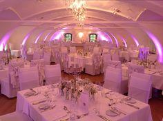 Restaurant @ Obermayerhofen Restaurant, Weddings, Table Decorations, Furniture, Home Decor, Wedding, Decoration Home, Room Decor, Diner Restaurant