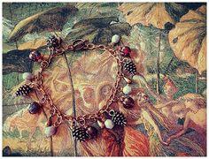 Fairytale Charm Bracelet Sleeping in the by GingerKellyStudio, $28.00