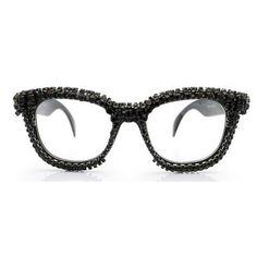 38e21938cc A-Morir eyewear eyeglasses trimmed in Swarovski crystal cup chain. a-morir  sunglasses