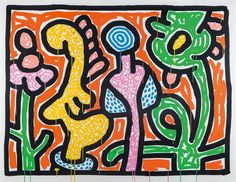 Flowers IV by Keith Haring on artnet Auctions