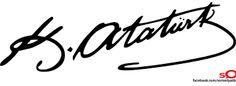 Signature of Ataturk Government Logo, Stencils, Black And White Stickers, Logo Design, Wall Design, 2 Logo, Vector Free Download, Classroom Design, Black And White Design