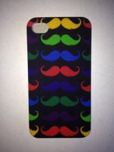 epic mustache phone case