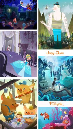 Joey Chou Mid century inspired Artist and Illustrator People Illustration, Children's Book Illustration, Character Illustration, Joey Chou, Disney Artists, Mid Century Art, Cute Wallpapers, Illustrators, Art For Kids